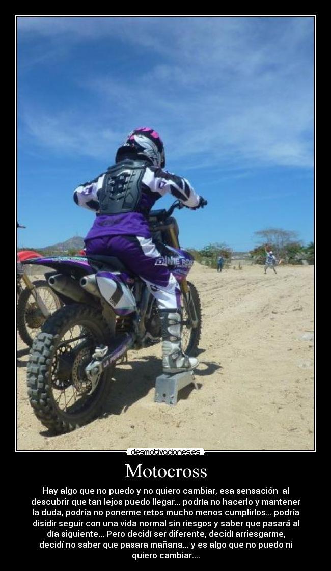 Motocross Desmotivaciones