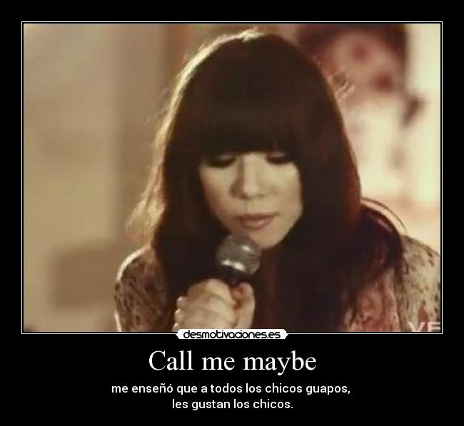 call call me maybe