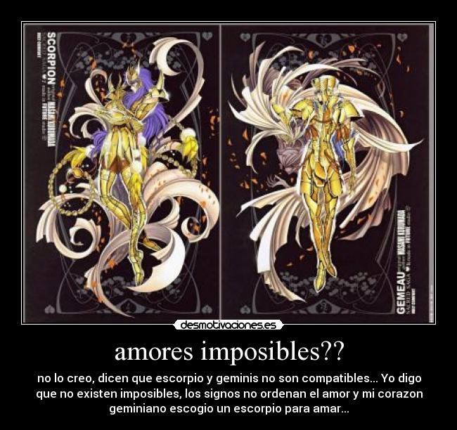 geminis escorpio: