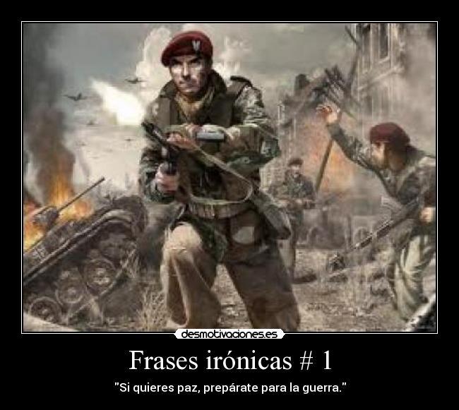 Frases Con Imagenes De Soldados