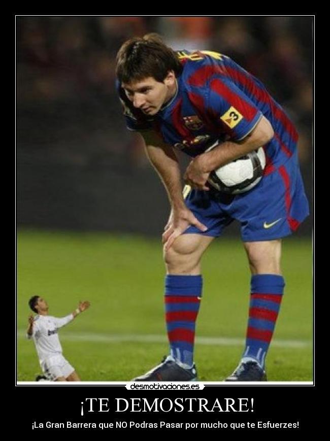 Ronaldo Humilla a Messi - Imagui