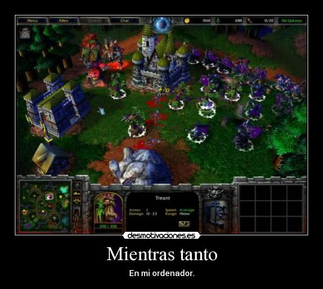 carteles efectolikot warcraft reign chaos frozen throne ilidan night elf undead games desmotivaciones
