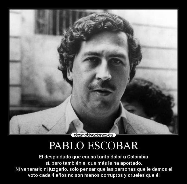 Maria Victoria Henao Pablo Escobar
