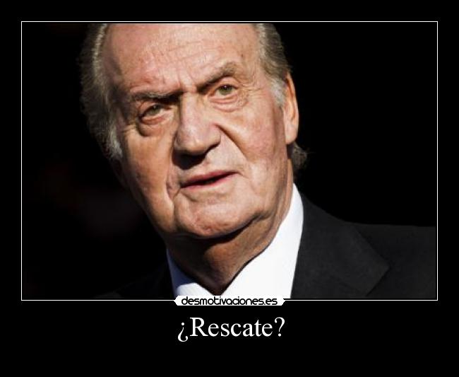 ¿Rescate? -