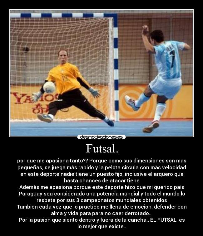 Futsal Desmotivaciones