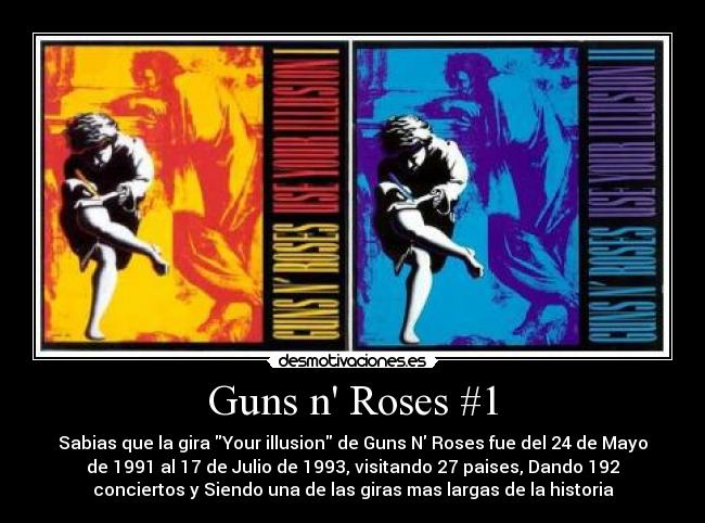 Guns N' Roses - Sweet Child O' Mine - Live In Tokyo 92