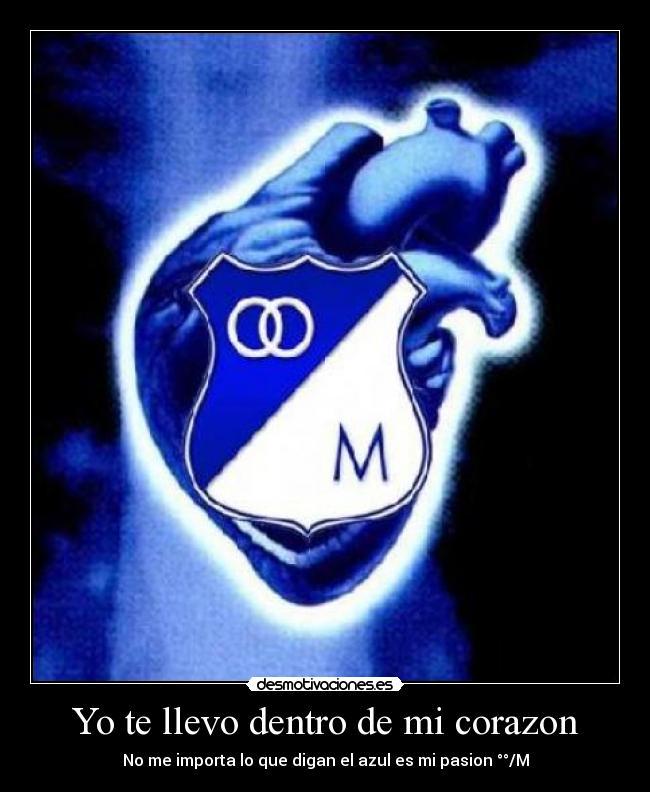 carteles y desmotivaciones de equipo de futbol millonarios fc cdlm