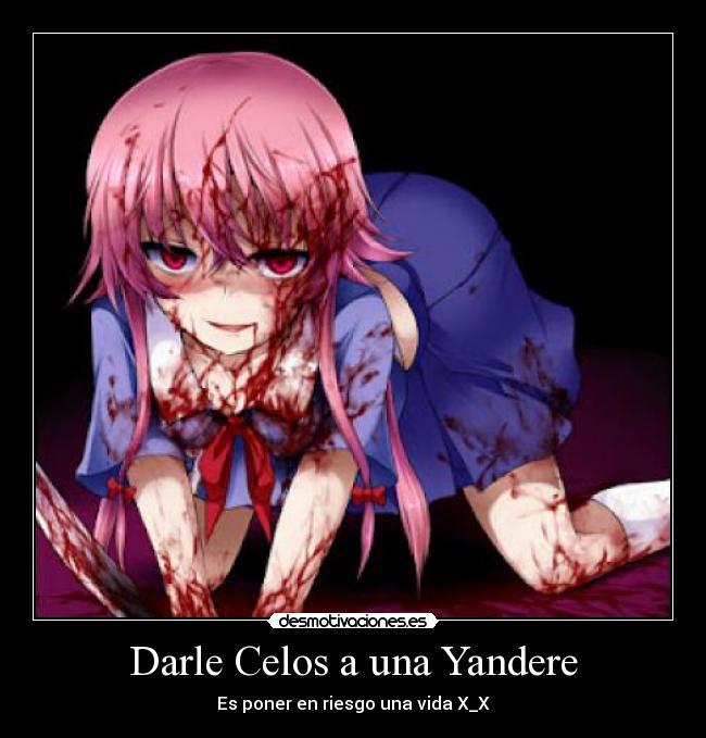 Yandere Anime http://desmotivaciones.es/5385008/Darle-Celos-a-una ...