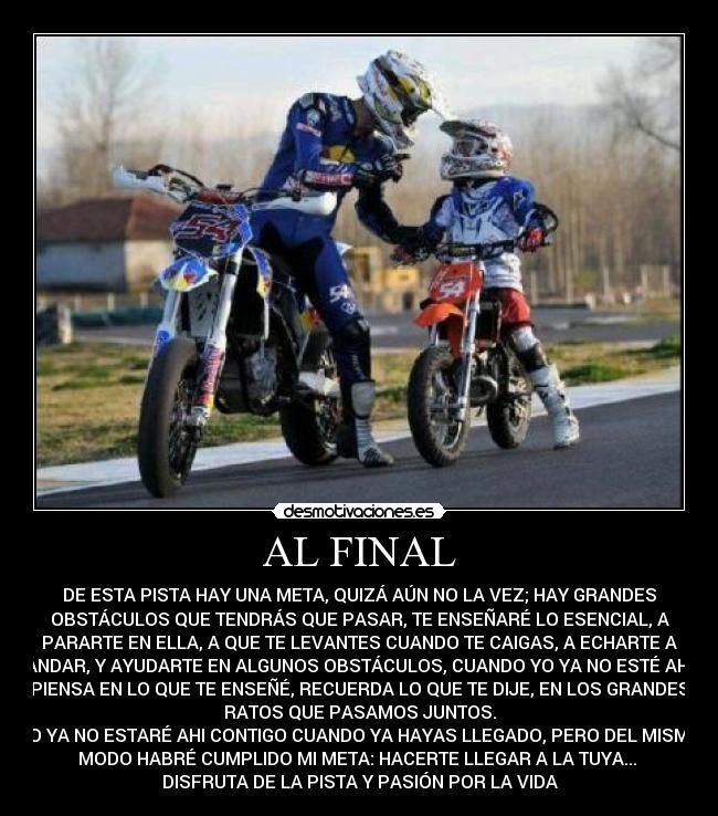 Fotos de motocross con frases - Imagui