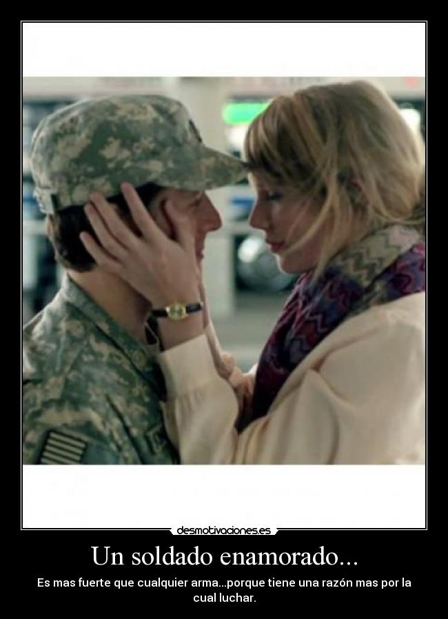 carteles jofproducciones militar amor desmotivaciones