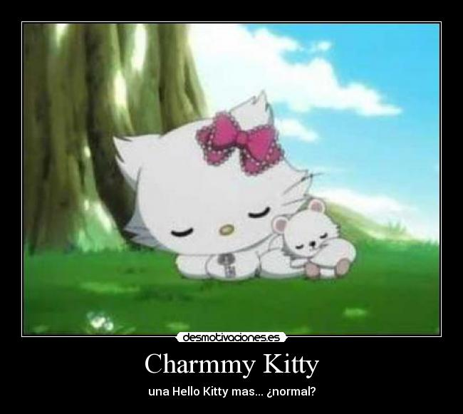 Charmmy Kitty - una Hello Kitty mas... ¿normal?