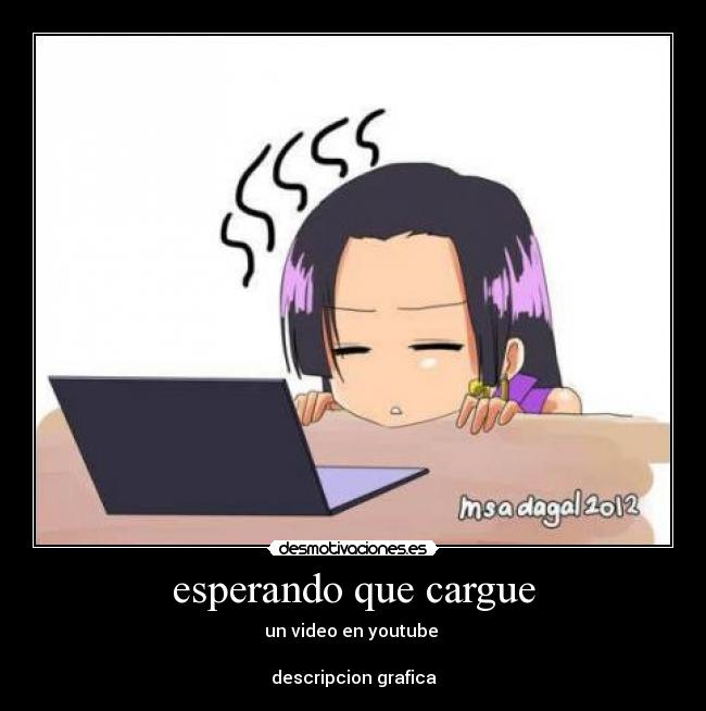carteles anime video youtube desmotivaciones