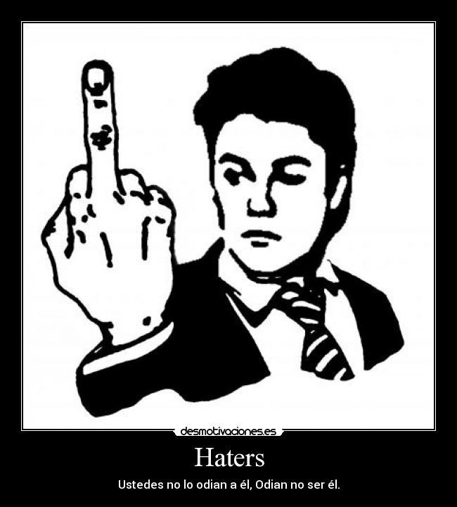Imágenes Y Carteles De Haters Pag 14 Desmotivaciones
