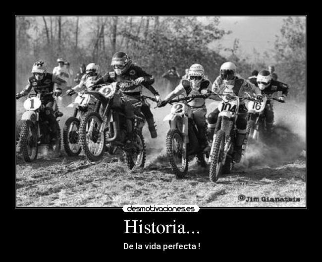 carteles historia motocross desmotivaciones