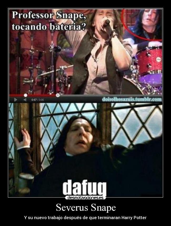 Severus Snape | Desmotivaciones