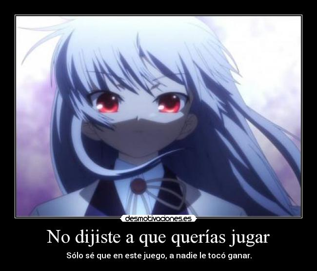 carteles theab3 says sacado cancion betty boop harukaze anime manga angel beats kanade tenshi desmotivaciones