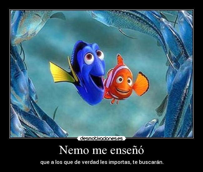 Nemo Me Enseñó Desmotivaciones