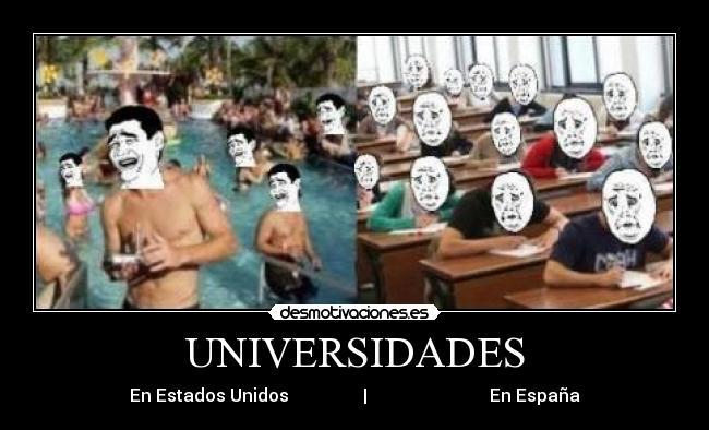 carteles universidades desmotivaciones