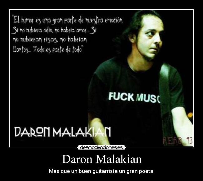 Daron Malakian Desmotivaciones