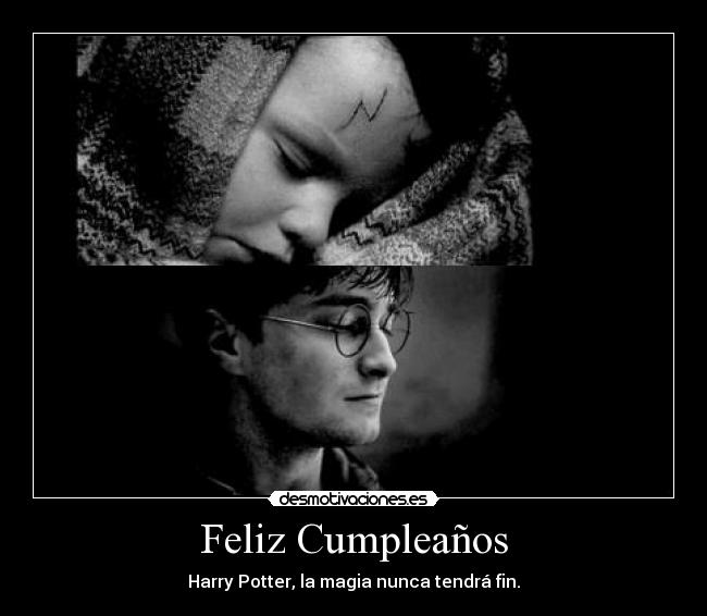 Feliz Cumpleaños, Harry Potter!!! HPforever