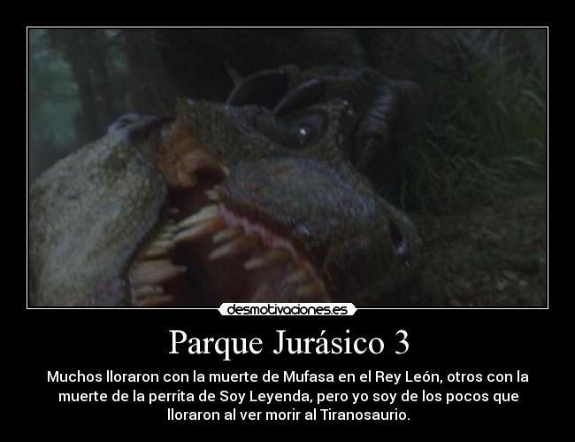 Parque Jurásico 3 Desmotivaciones