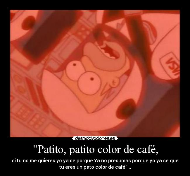 Patito Color De Cafe