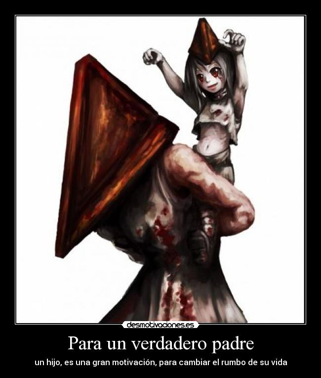 Carteles y Desmotivaciones de anime video game silent hill pyramid ...