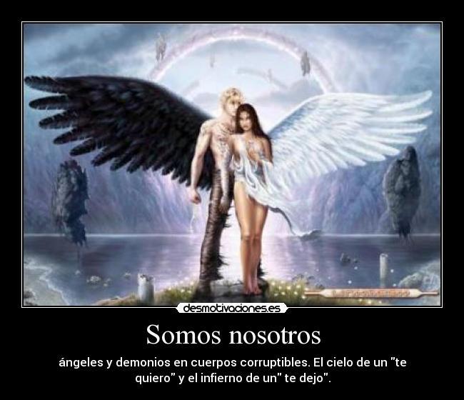 Imagenes Angeles Y Demonios