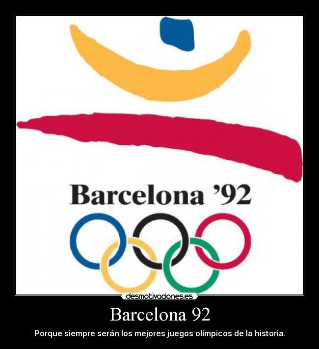 Barcelona 92 Desmotivaciones