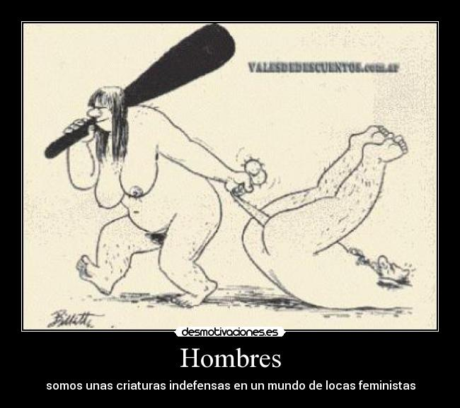 hombre feminista: