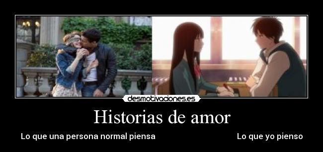 carteles amor historias amor pelicula 3msc anime kimi todoke desmotivaciones