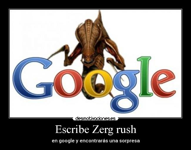 how to play google zerg rush