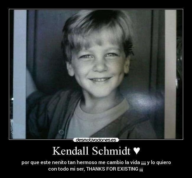 carteles thanks for existing kendall schmidt desmotivaciones