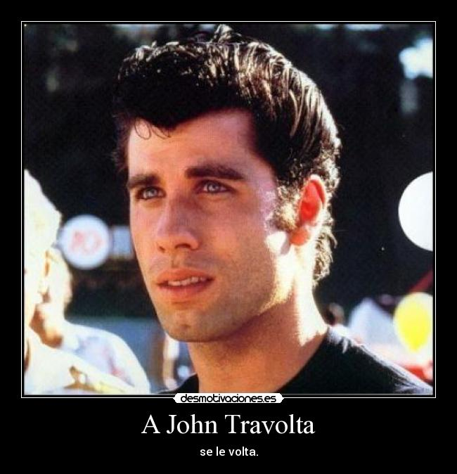 A John Travolta Desmotivaciones