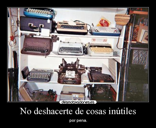 carteles hoarders hoarders everywhere desmotivaciones