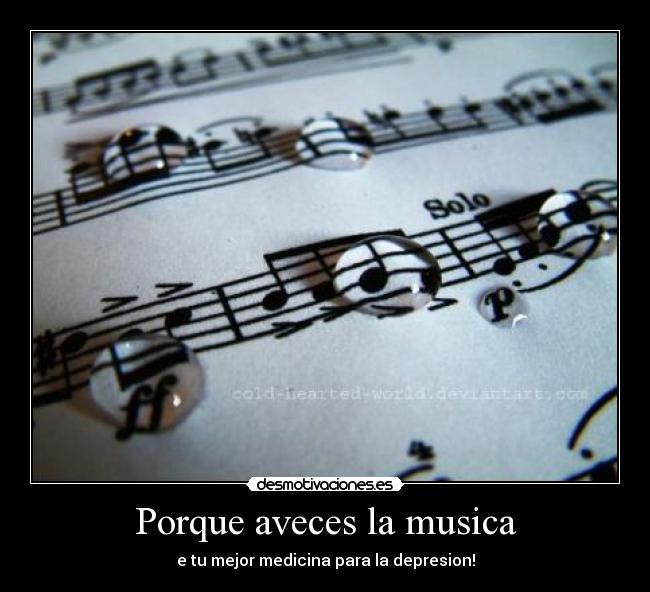 Usuario: Amor a la musica   Desmotivaciones