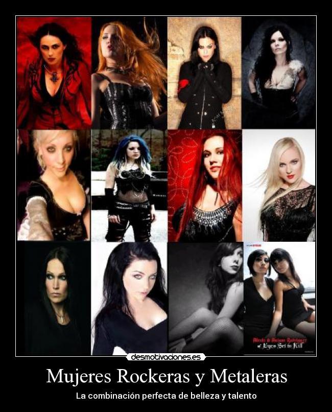 Imágenes, Carteles y Desmotivaciones de rockmetalgirls