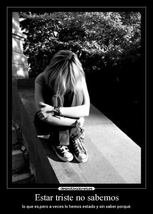 Que Triste es Saber Carteles Sin Saber Por Que