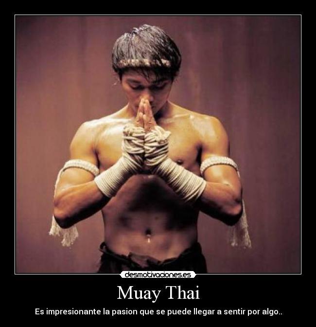 Muay Thai Desmotivaciones
