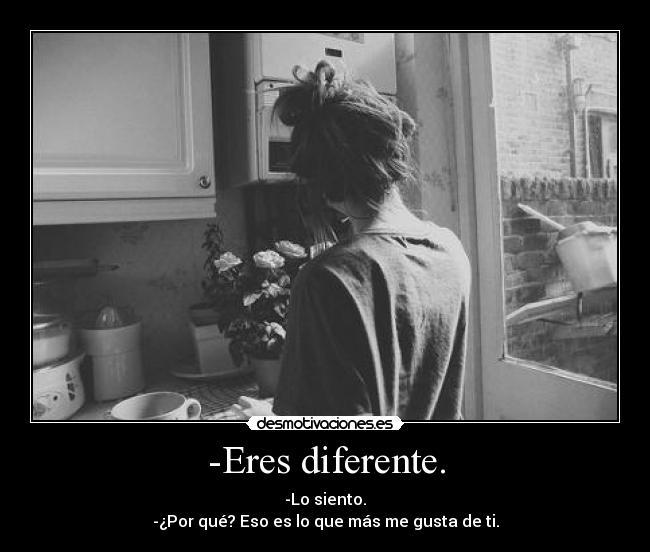 Eres Diferente Desmotivaciones