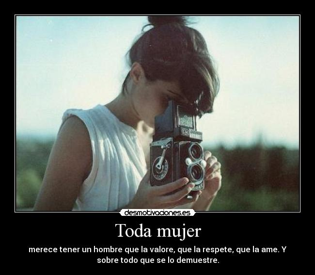 Toda mujer -