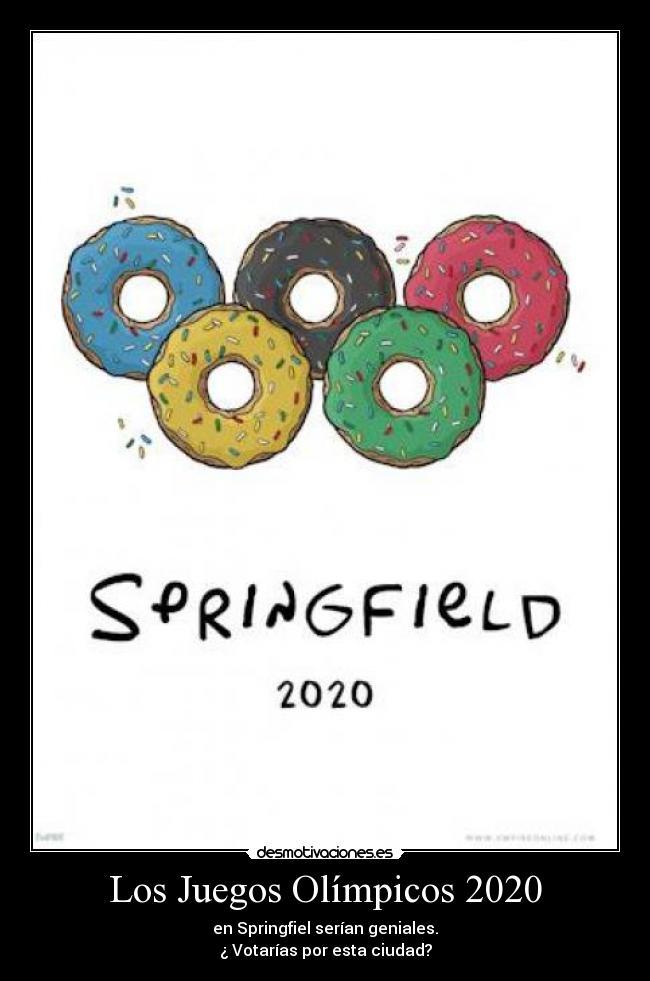 Los Juegos Olimpicos 2020 Desmotivaciones