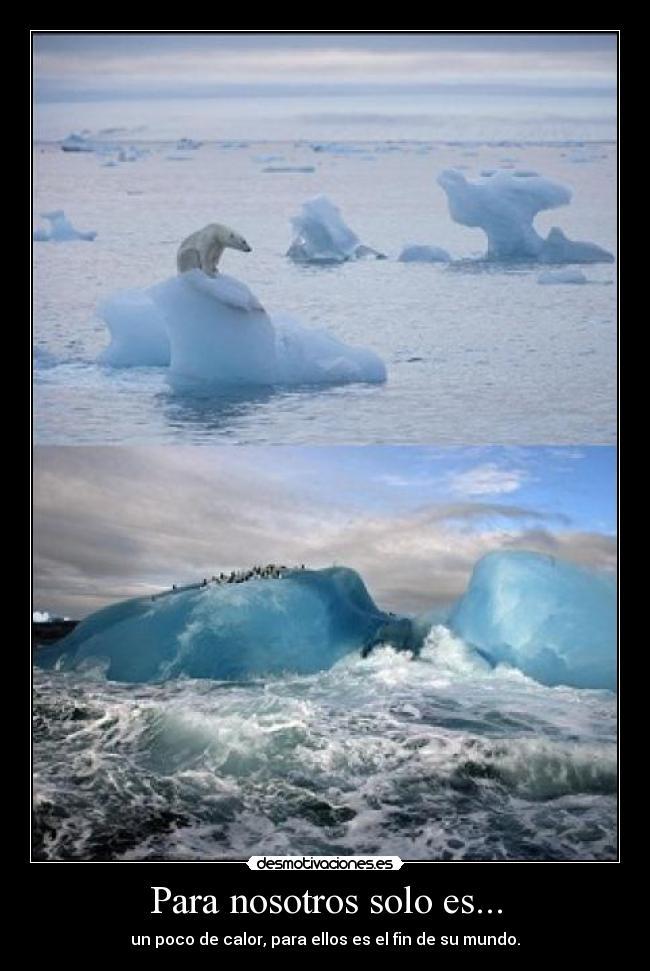 Polar Y El Calentamiento Global Concepto De