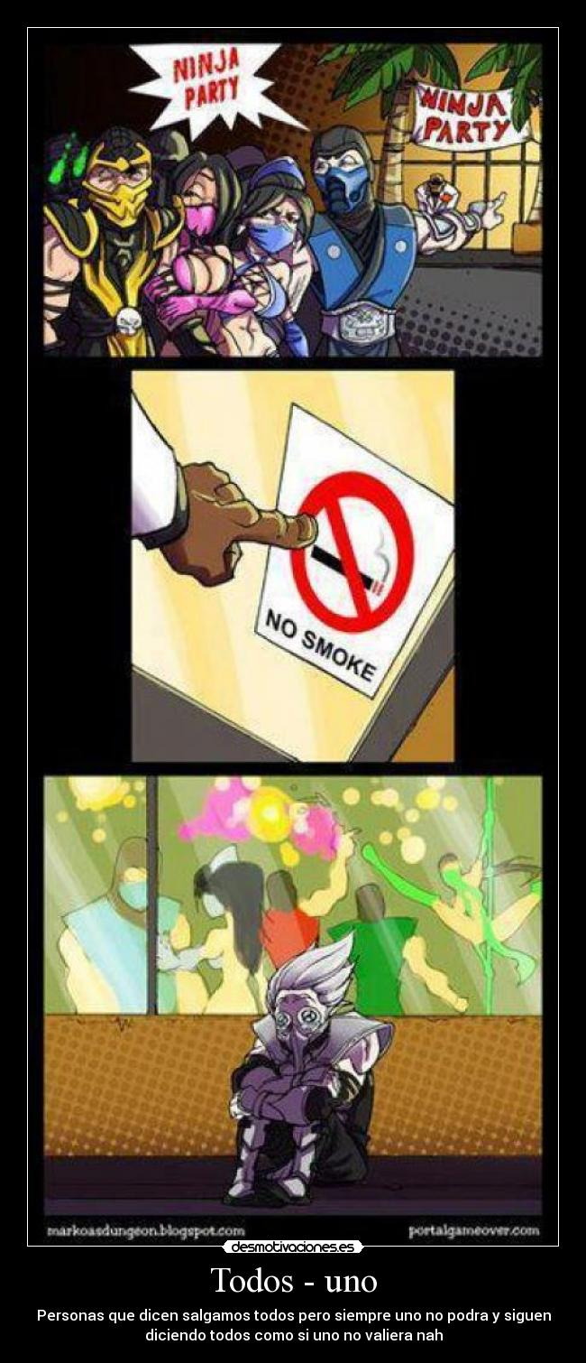 carteles anime mortal kombat desmotivaciones