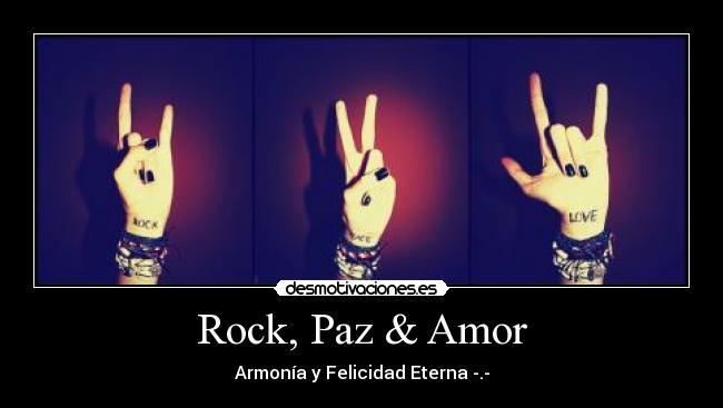 Rock, Paz & Amor