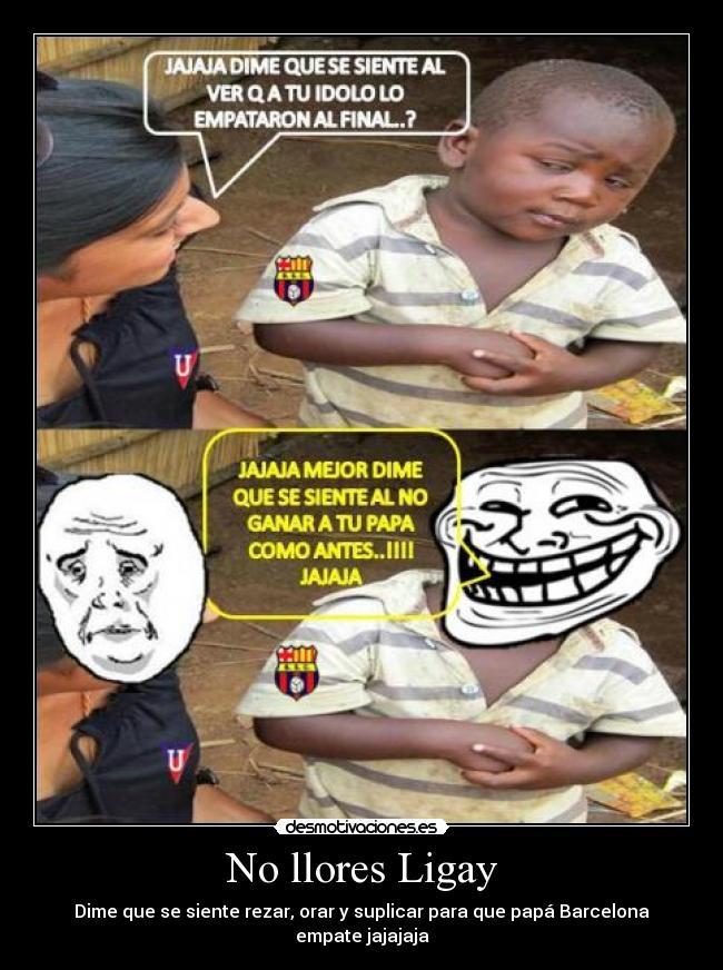 Barcelona Ecuador Memes Idolo Barcelona Ecuador