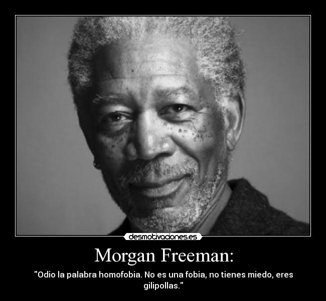 carteles morgan freemasn homofobia desmotivaciones