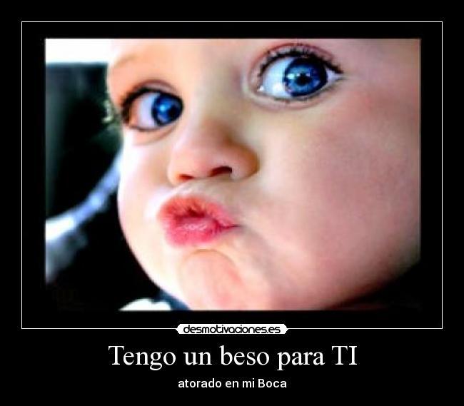 besos para ti