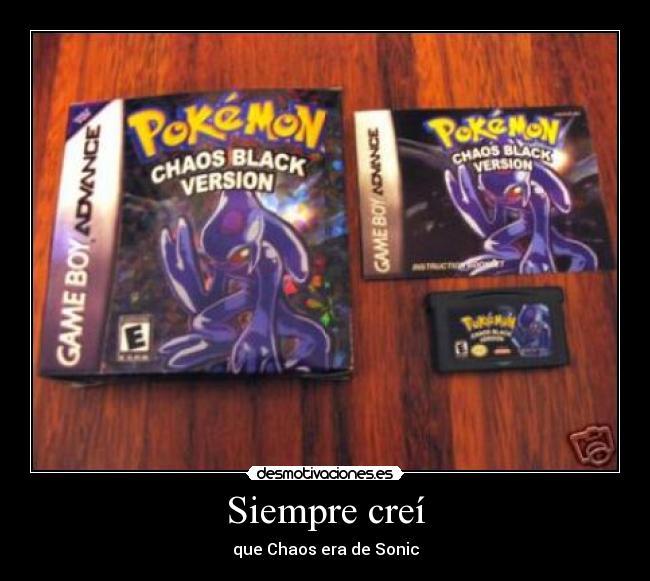 Tai Game Pokemon Chaos Black Gba Emulator
