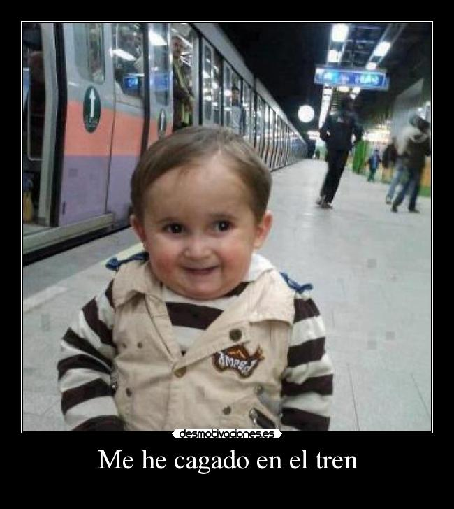 Me he cagado en el tren - 